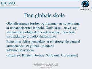 Den globale skole