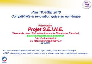 Pr sentation   Projet S.E.I.N.E.  Standards pour l Entreprise Innovante Num rique Etendue pierre.fauredassault-aviation.