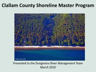 Clallam County Shoreline Master Program
