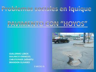 Problemas sociales en Iquique
