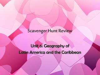 Scavenger Hunt Review