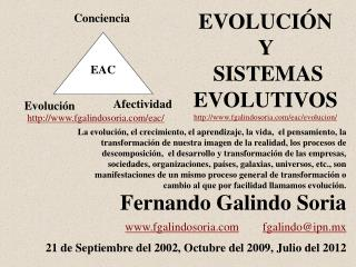 Fernando Galindo Soria www.fgalindosoria.com        fgalindoipn.mx       21 de Septiembre del 2002, Octubre del 2009