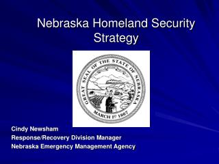 Nebraska Homeland Security Strategy
