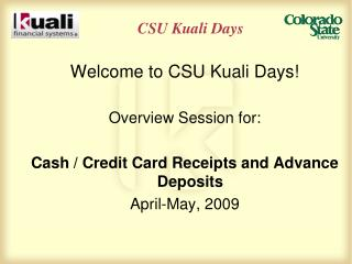 CSU Kuali Days