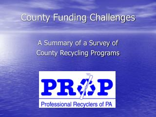 County Funding Challenges