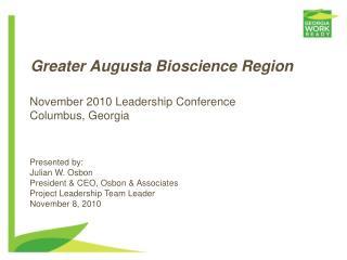 Greater Augusta Bioscience Region