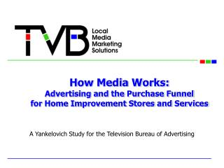 How Media Works: Advertising and the Purchase Funnel for Home Improvement Stores and Services