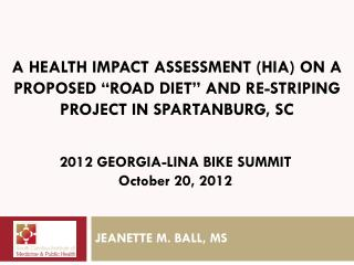 JEANETTE M. BALL, MS