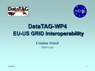 DataTAG-WP4 EU-US GRID Interoperability