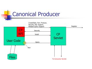 Canonical Producer
