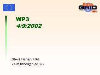 WP3 4/9/2002