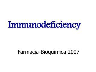 Farmacia-Bioquimica 2007