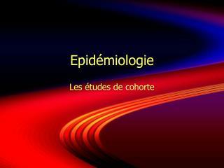 Epid�miologie