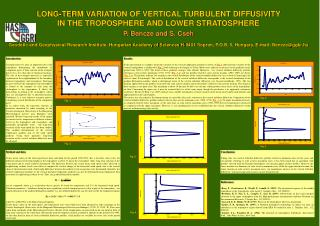 LONG-TERM VARIATION OF VERTICAL TURBULENT DIFFUSIVITY  IN THE TROPOSPHERE AND LOWER STRATOSPHERE