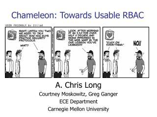 Chameleon: Towards Usable RBAC