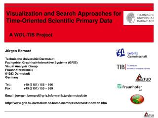 Visualization and Search Approaches for Time-Oriented Scientific Primary Data