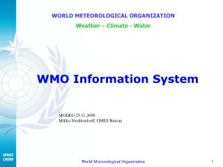 WMO Information System