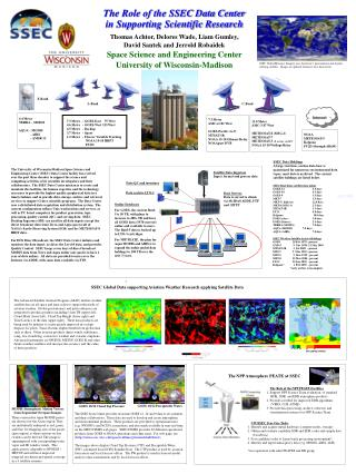 The Role of the SSEC Data Center in Supporting Scientific Research