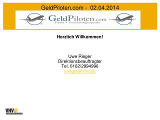 GeldPiloten -  02.04.2014