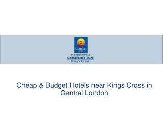 Comfort Inn Kings Cross - London Hotels