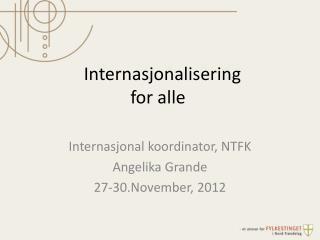 Internasjonalisering  for alle
