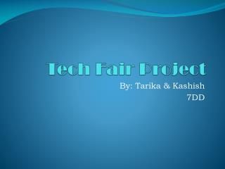 Tech Fair Project