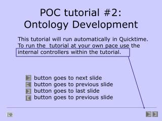 POC tutorial #2: Ontology Development