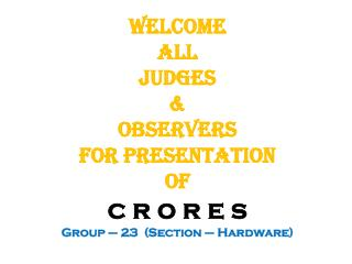 Team Members: Ms.  Manvi Sharma  Kampasi --   Co- ordinator Mr. Deepak Kumar Mr.  Dushyant Kohli