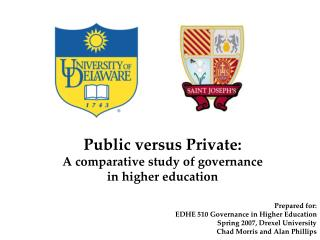 Public versus Private: A comparative study of governance in higher education