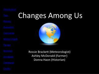 Changes Among Us