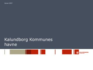 Kalundborg Kommunes havne