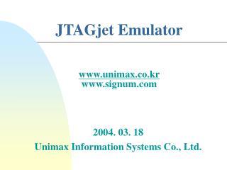 JTAGjet Emulator