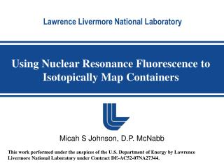 Using Nuclear Resonance Fluorescence to Isotopically Map Containers