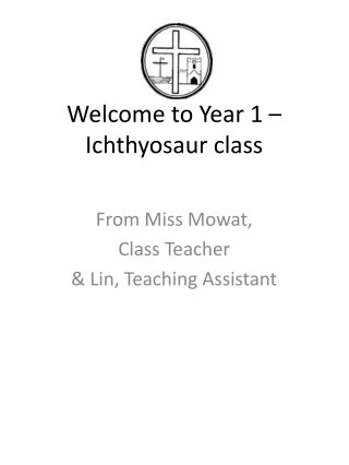 Welcome to Year 1 – Ichthyosaur class