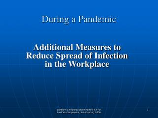 During a Pandemic