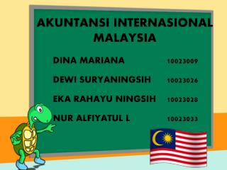 AKUNTANSI INTERNASIONAL MALAYSIA