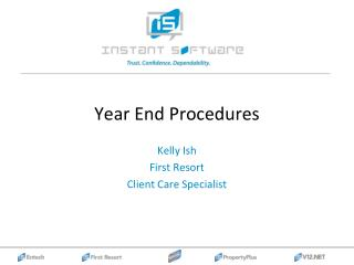 Year End Procedures