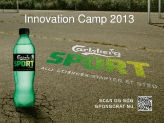 Innovation Camp 2013