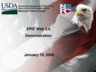 EPIC Web 3.0 Demonstration