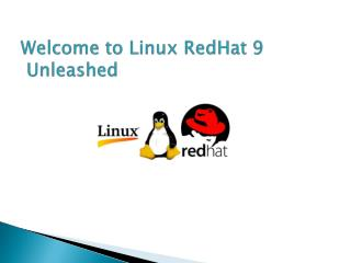 Welcome to Linux  RedHat  9  Unleashed