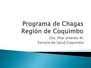 Programa de Chagas Regi�n de Coquimbo