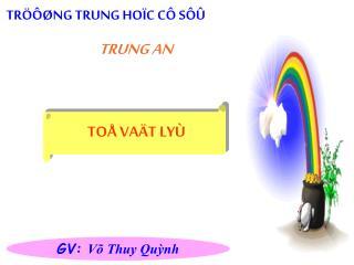 TRÖÔØNG TRUNG HOÏC CÔ SÔÛ  TRUNG AN