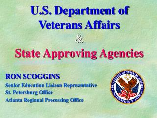 U.S. Department of Veterans Affairs  State Approving Agencies