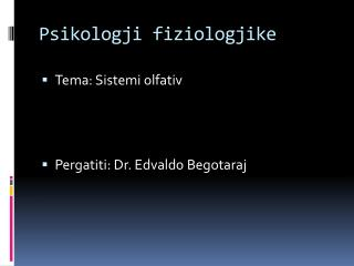 Psikologji fiziologjike