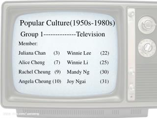 Group 1--------------Television