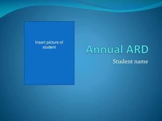 Annual ARD