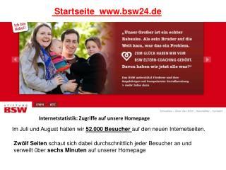 Startseite  bsw24.de