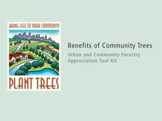 Urban Forestry final