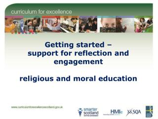 Getting started – support for reflection and engagement religious and moral education