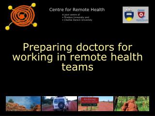 Preparing doctors for working in remote health teams